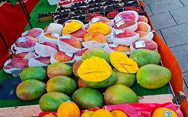 Besuch auf dem Bockenheimer Wochenmarkt
